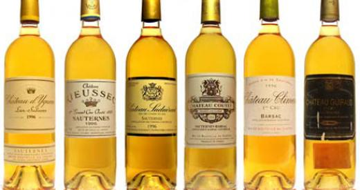 Reflections on Sauternes and spices